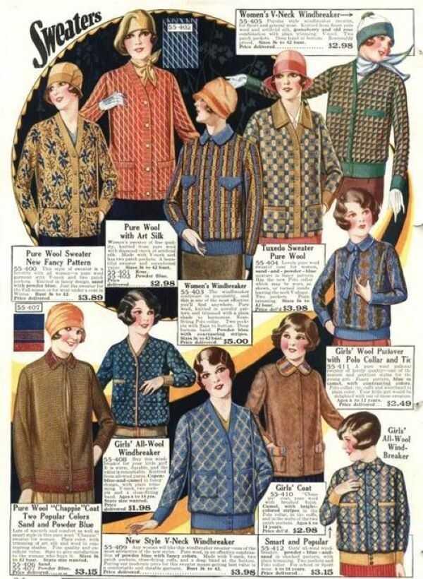 phong cách áo len thay đổi thế nào so với trước đây 1